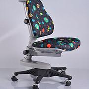 Кресло Y-818 GB обивка черная с жучками Mealux