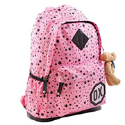 Рюкзак подростковый  Х094 Oxford 1 Вересня 552540 розовый