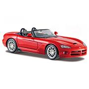 Автомодель 1:24 Dodge Viper SRT-10, красный Maisto