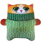 Антистрессовая игрушка Штучки Коты Зяблики рыжий