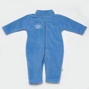 Комбинезон флисовый Модный Карапуз 02-00435 голубой