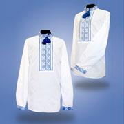 Сорочка вышитая для мальчика Сварга Спас