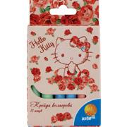 Мелки цветные Hello Kitty Kite HK15-075K