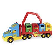Игрушечная машинка Super Truck мусоровоз Wader 36530