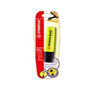 Маркер текстовый Stabilo Boss B-10129 желтый