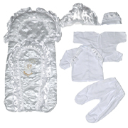 Конверт и набор для новорожденного Солнышко Little Angel КН3-56