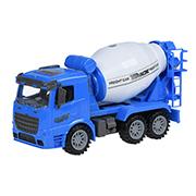 Машинка инерционная Same Toy Truck Бетоносмеситель синий