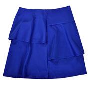Юбка трапеция Sabrina Timbo U010193 синяя