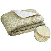 Одеяло зимнее шерстяное в бязи Руно Комфорт-плюс Орнамент