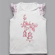Топик для девочки Модный карапуз 03-00518 белый