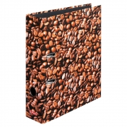 Папка-регистратор Herlitz А4 8см World of Fruit Coffee 10507812