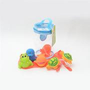 Набор игрушек для ванны Морские обитатели Baby Team AKT-9004