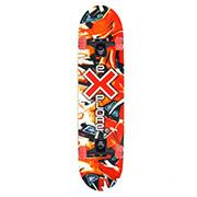 Скейт Explore Elife Красное графити