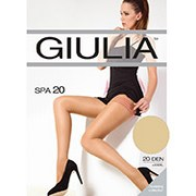 Колготки бежевые 20 Den кoрректирующие Spa Giulia Diano