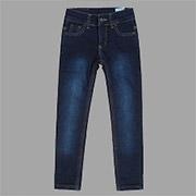 Джинсы утепленные для девочки Bembi ШР302 джинс