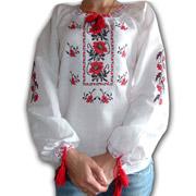 Вышитая сорочка для девочек Bimbissimi ВСД-025