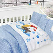 Постельное белье для детской кроватки First choice Sleeper mavi