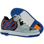 Роликовые кроссовки Hyper Heelys бело-синие