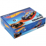 Гуашь 12 цветов 20 мл Kite Hot Wheels HW21-063