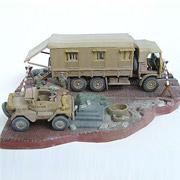 Конструктор Военные автомобили Revell 03227