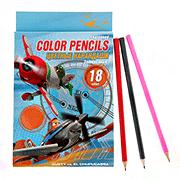 Набор цветных карандашей самолетики PLBB-US1-P-18