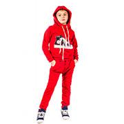 Трикотажный спортивный костюм Кед Kids Couture красный