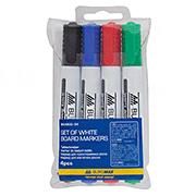 Комплект из 4 маркеров для магнитных досок Buromax BM.8800-94