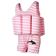 Купальник-поплавок Konfidence Floatsuits Pink Stripe FS02
