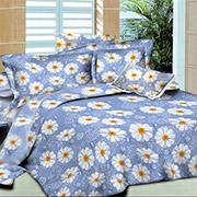 Комплект постельного белья Indigo daisies SoundSleep поплин