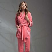 Женский комплект Ellen LOV 004/001 розовый