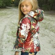 Куртка-жилет для девочки Модный карапуз