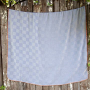 Плед Barine Tetra throw denim