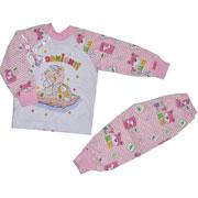 Пижама для девочки теплая Витуся 1002037