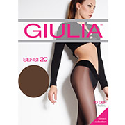 Колготки темно-коричневые 20 Den Sensi Giulia Сappuccino