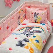Комплект в кроватку TAC Tweety and bugs bunny baby
