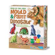 Фигурки из гипса 4M Динозавры светящиеся в темноте