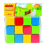 Развивающие кубики с цифрами Ecoiffier 000404