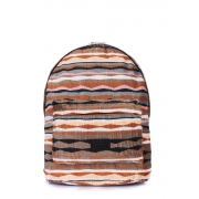 Рюкзак женский Poolparty Backpack rasta brown