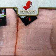 Полотенце Mariposa Panda персиковое