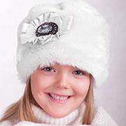 Зимняя шапка меховая на подкладке Pupill Carmen