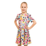 Платье Мики Маус Kids Couture серое