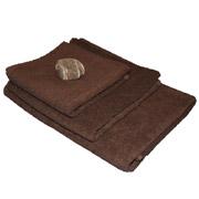 Полотенце махровое Terry Lux Отель шоколадное