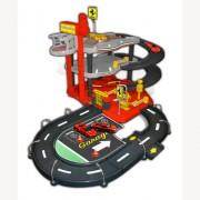 Игровой набор - Гараж FERRARI (3 уровня, 2 машинки 1:43)