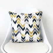 Подушка Lilihome design Yellow Chevron YC101