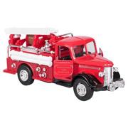 Машинка металлическая goki Пожарная ретро-машина бочка