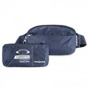 Сумка на пояс раскладная Tucano Compatto XL Waistbag Packable Blue BPCOWB-B