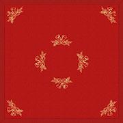 Настольник Гармония мод.42 Колокольчики золотые красный сатин