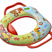 Детская мягкая накладка на унитаз Prima-Baby 8680