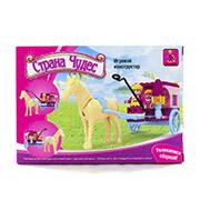 Игровой конструктор для девочек Крытая повозка LEGO Ausini 24301