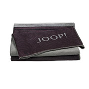 Плед Joop! Horizon Bordeaux-graphit